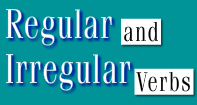 Regular and Irregular Verbs Video