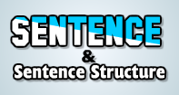 Sentence and Sentence Structure Video