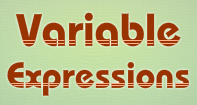 Variable Expressions Video
