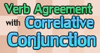 Verb Agreement with Correlative Conjunction Video