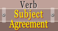 Verb Subject Agreement Video