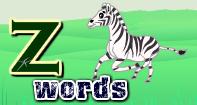 Z Words Video