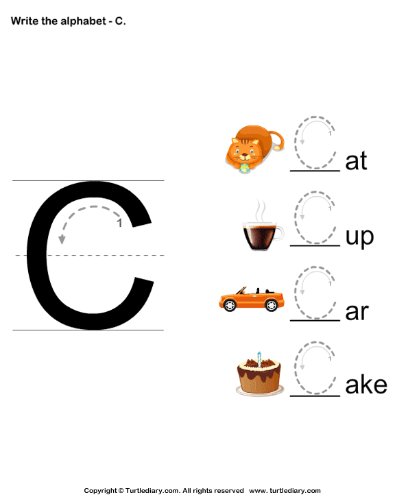 alphabet writing activities for pre-k