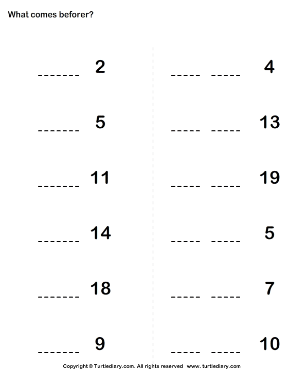 Fun to Learn Numbers Worksheet 4
