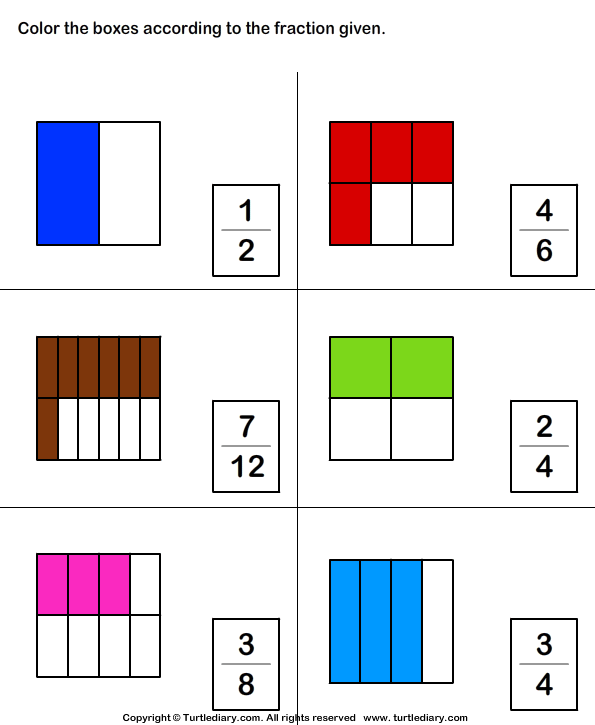 Fraction of a Whole Answer