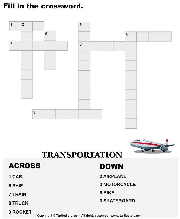 Complete the Crossword Answer