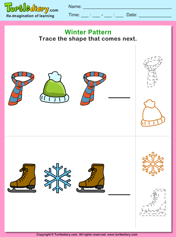 Winter Pattern Answer