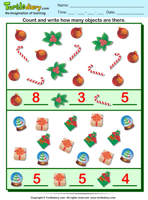 Christmas Counting Answer