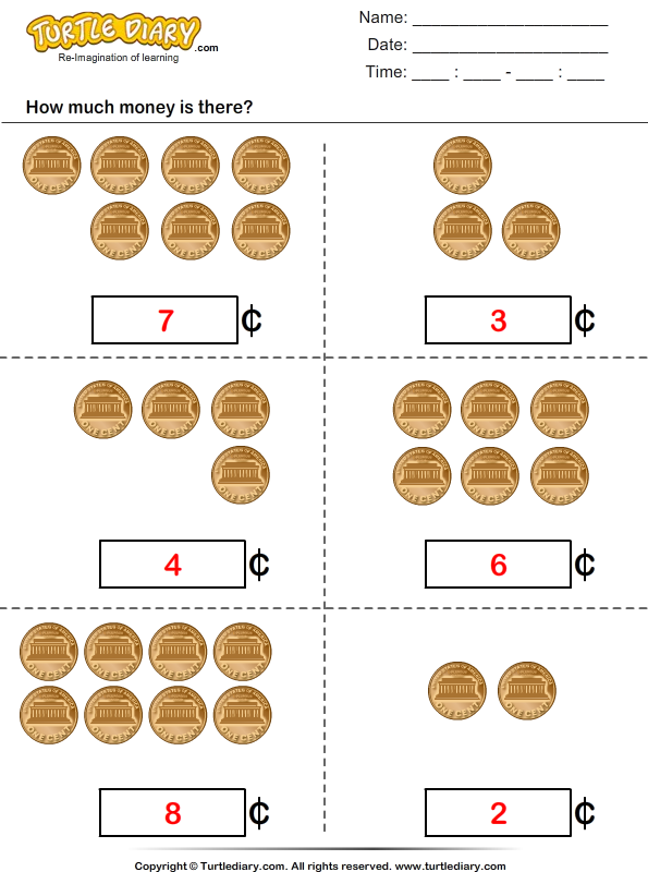 Count Pennies Answer