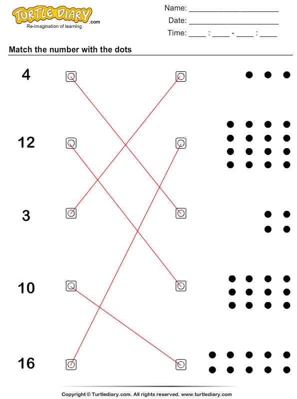 Count Dots Answer