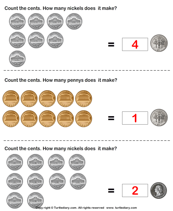 Equivalent Amount with Same Coins Answer