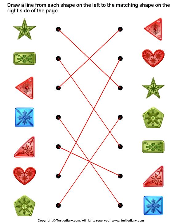 Similar Pattern Worksheet Turtle Diary