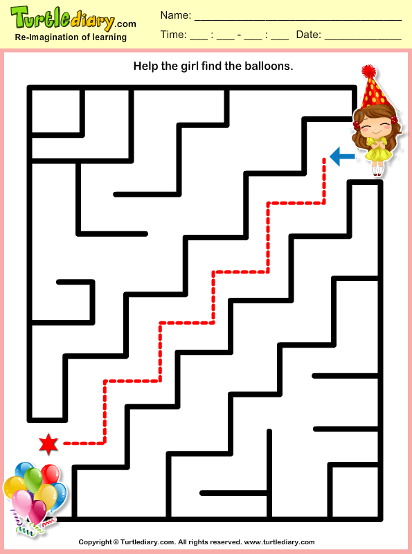 New Year Mazes Answer