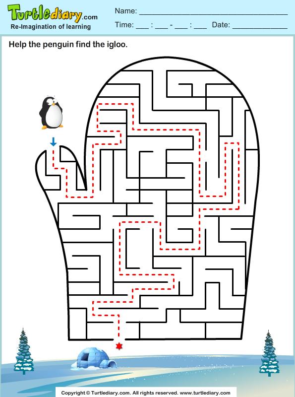 Winter Maze Answer