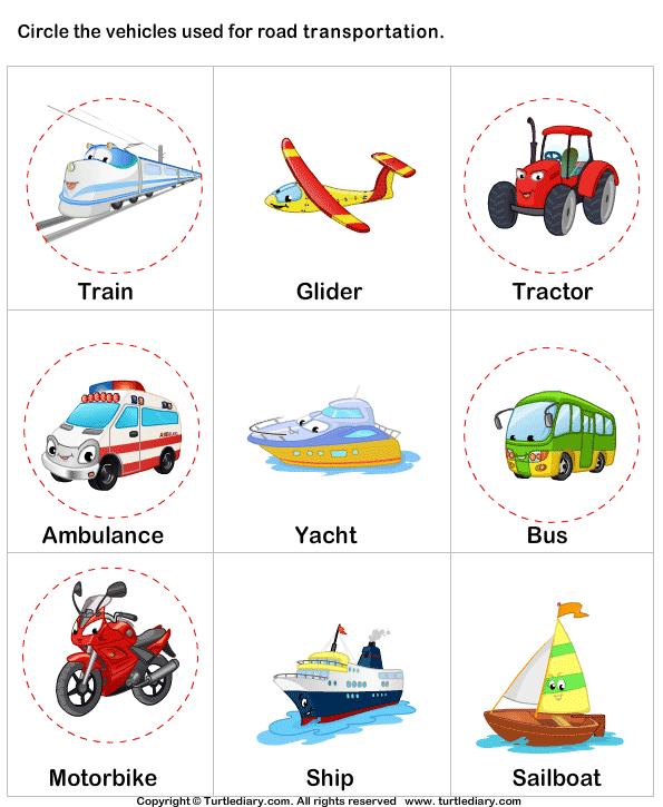 Land Transport Answer