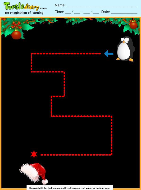 Christmas Maze Answer