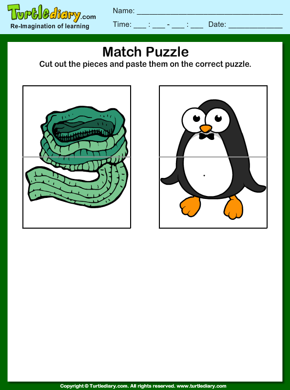 Winter Puzzles Answer