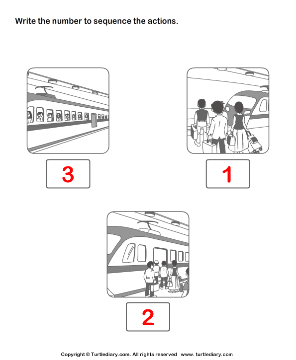 Picture Sequence Answer