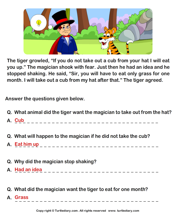 Comprehension worksheets for grade 7 pdf
