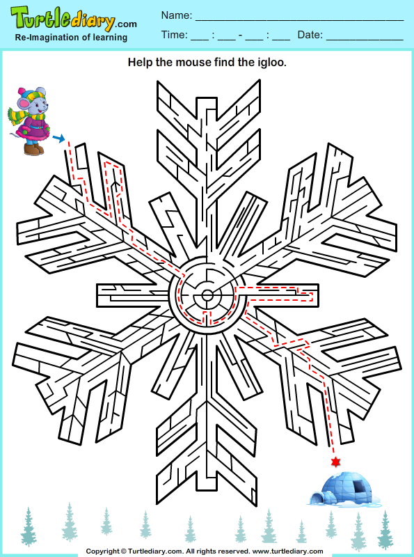 Winter Maze Answer
