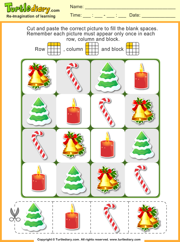 Christmas Puzzles Answer