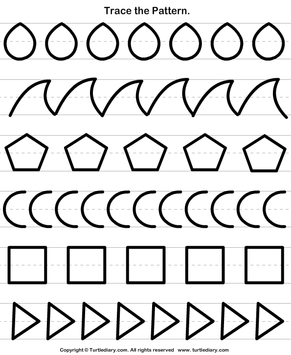 Trace the Pattern Answer