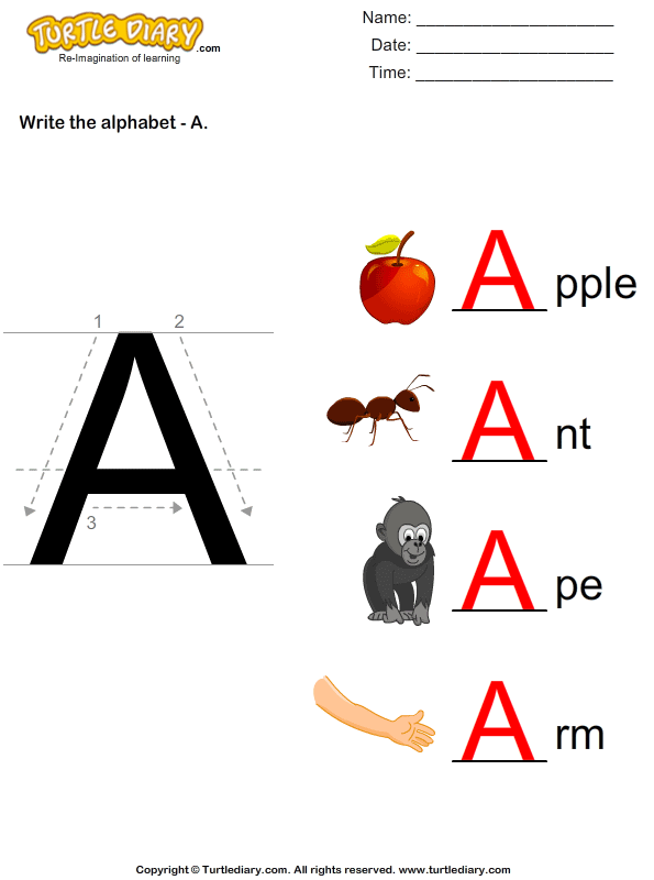 answer-write-alphabet-a-in-uppercase X Worksheet For Pre on writing handwriting, trace letters, maths concept for nursery, re un, learning printable, sight words printable,