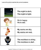 Choose the sentence with correct adjective 5