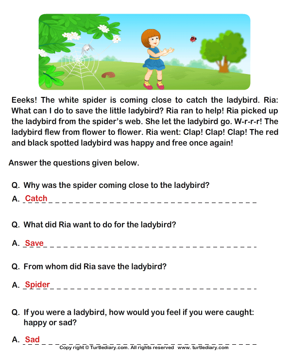 Printables Comprehension Grade 2 Free 2 comprehension worksheets free scalien grade scalien