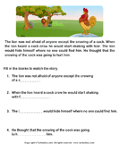 Reading comprehension stories  10 - comprehension - First Grade