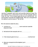 Reading comprehension stories  12 - comprehension - First Grade