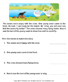 Reading comprehension stories  14 - comprehension - First Grade