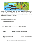 Reading comprehension stories  19 - comprehension - First Grade