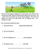 Reading comprehension stories  24 - comprehension - First Grade