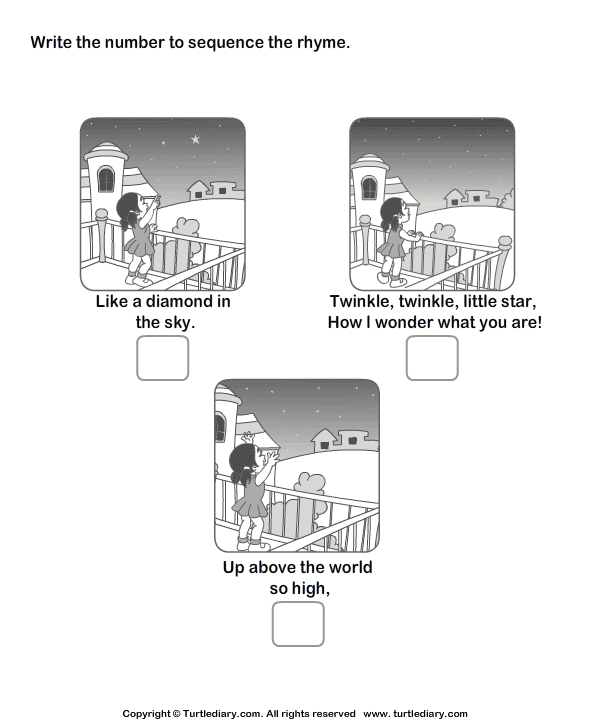 Sequence Of Events In A Story Worksheets – Sequencing Events Worksheets for Kindergarten
