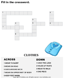 Complete the crossword 2
