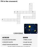 Complete the crossword 4