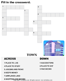 Complete the crossword 5