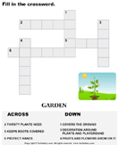 Complete the crossword 6