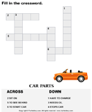 Complete the crossword 8