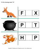 Fill in the missing vowel 7