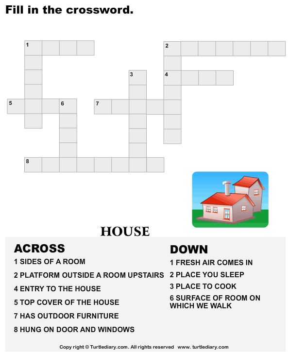 Complete the crossword