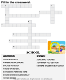 Complete the crossword 3