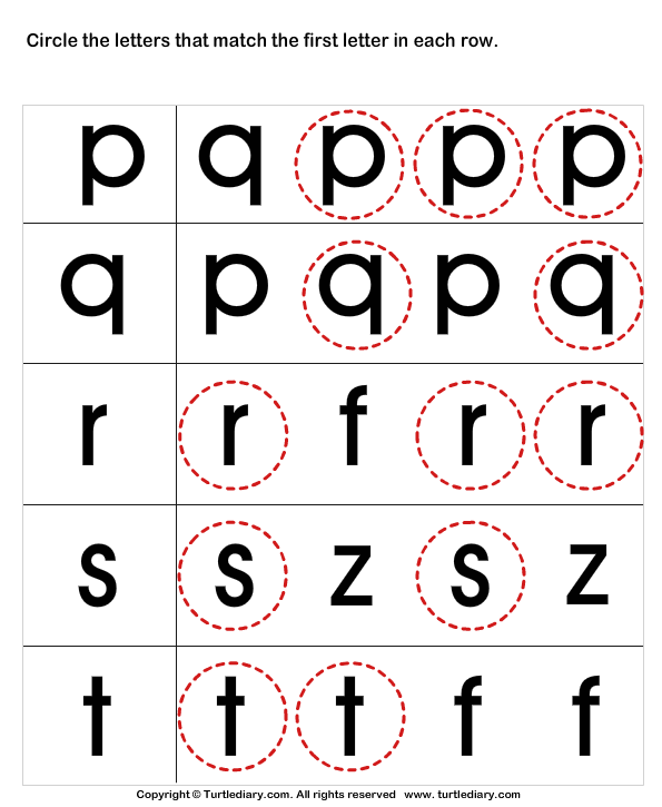 Recognize Letters In Upper Case