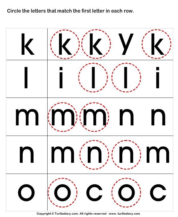recognize letters in upper case turtlediarycom With recognize alphabet letters