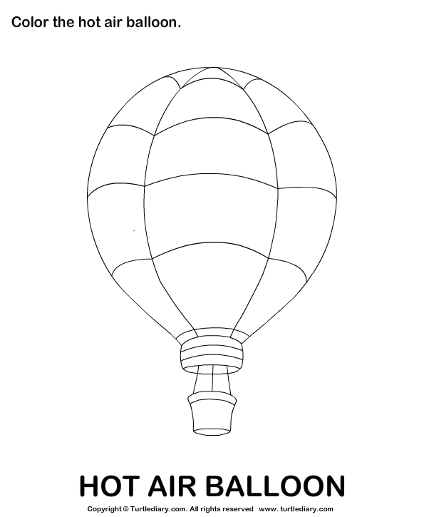 air transportation coloring pages preschool - photo#12