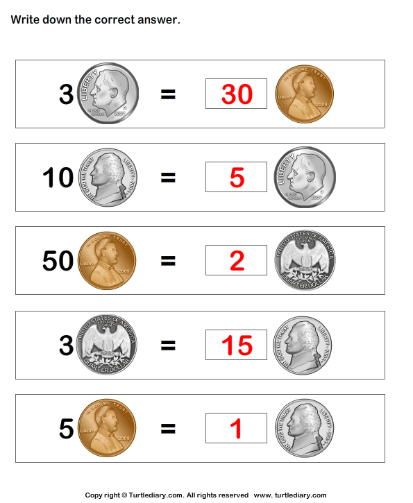 Equivalent amount with same currency Answer