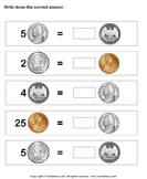 Equivalent amount with same currency 3