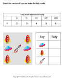 Record data with tally charts 2