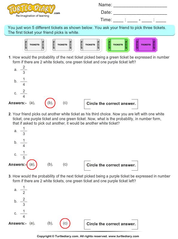probability multiple choice questions 11 worksheet. Black Bedroom Furniture Sets. Home Design Ideas